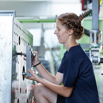 Photo Apprentice Praher Plastics Austria